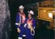 Video recording inside a coal mine, Witbank, Mpumalanga